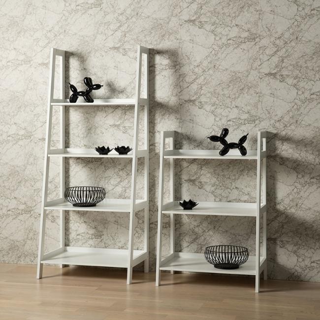 Černá a bílá barva v designovém interiéru