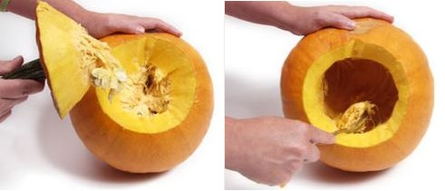 Jak vytvořit halloweenskou dýni