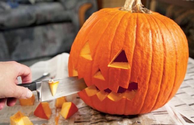 Jak si vytvořit dýni na Halloween